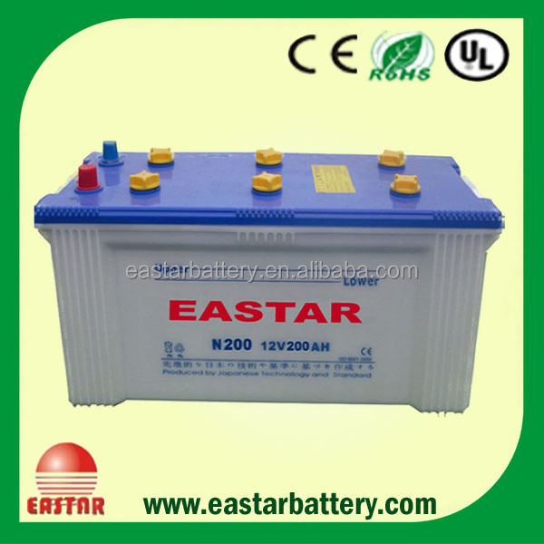 Auto Battery Dry Charged Car battery 3k battery