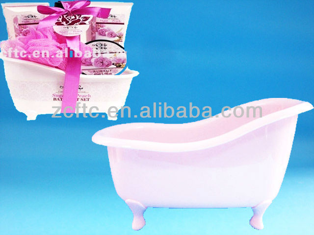 Plastic Mini Bathtub Container,Bathtub Cosmetic Packaging - Buy ...
