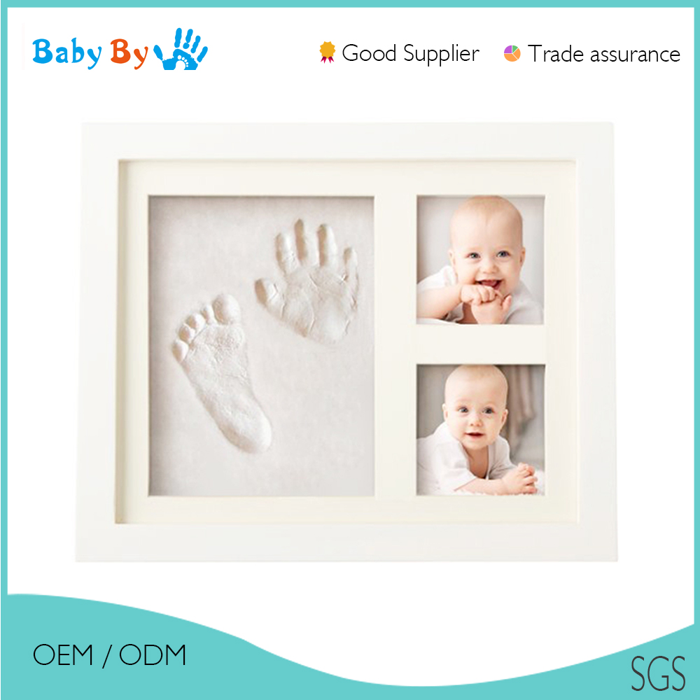 2016 newborn love baby 3d picture frame handprint kit for baby souvenir