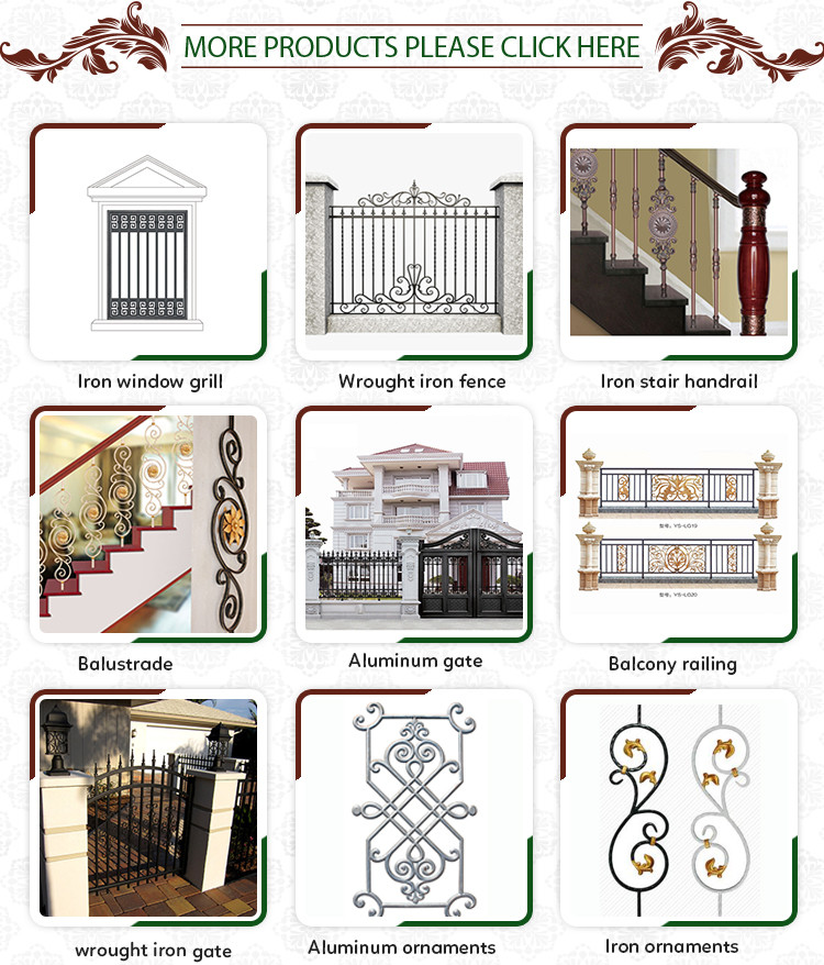 Top Selling Products In Alibaba China Hot-Selling Wrought Iron Fences
