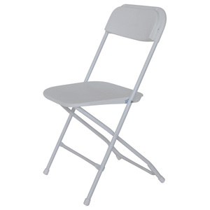 plastic folding chair for outdoor event rental