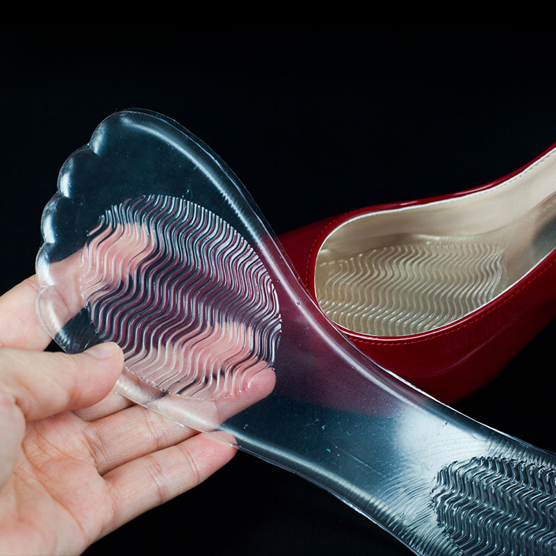 New fashion hot comfort silicone 3/4 foot care insoles