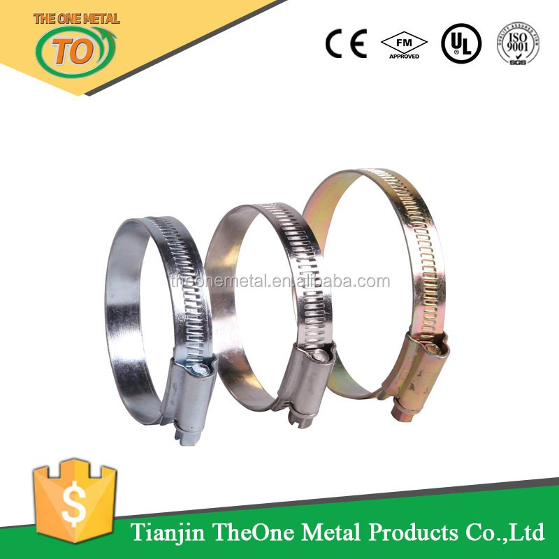 OOO SIZE Worm drive English type hose clamp