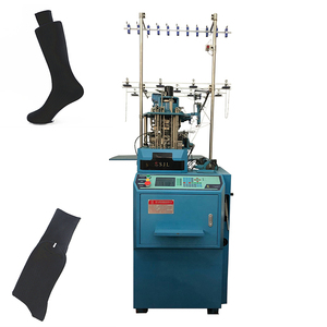 Automatic Efficient 300pairs/day Cotton Sock Production Machine, Industrial Socks Knitting Machine, Socks Manufacturing Machine