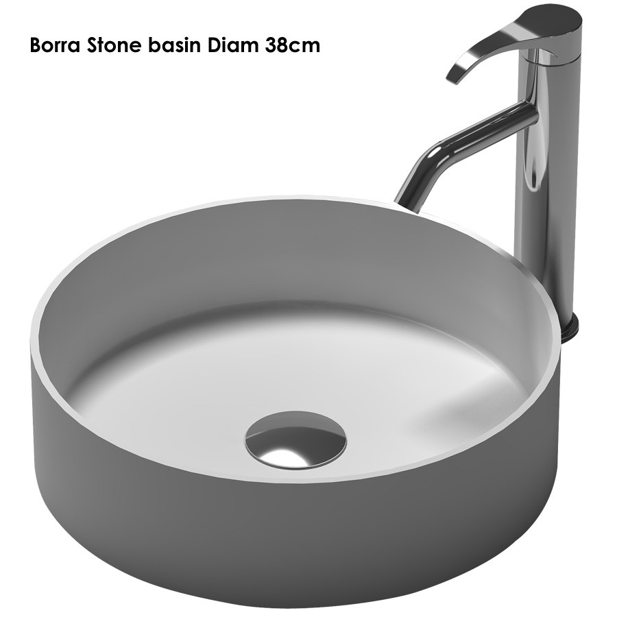 Solid Surface Stone Countertop Sink