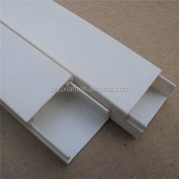 Pvc Cable Trunking Plastic Wire Trunking Pvc Wire Casing - Buy Pvc ...