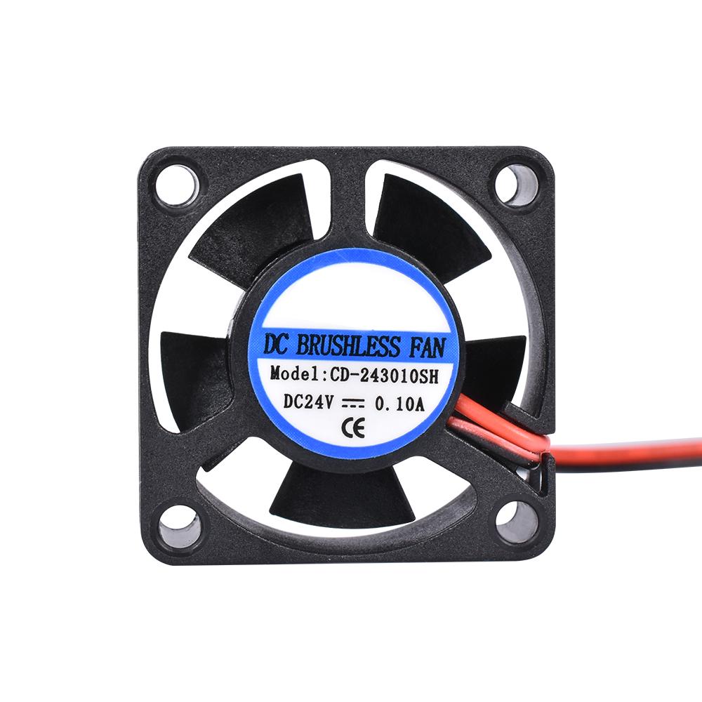 NEW 3D Printer GDT 4010 6CFM Small DC12//24V Brush-less Cooling Cooler Fan