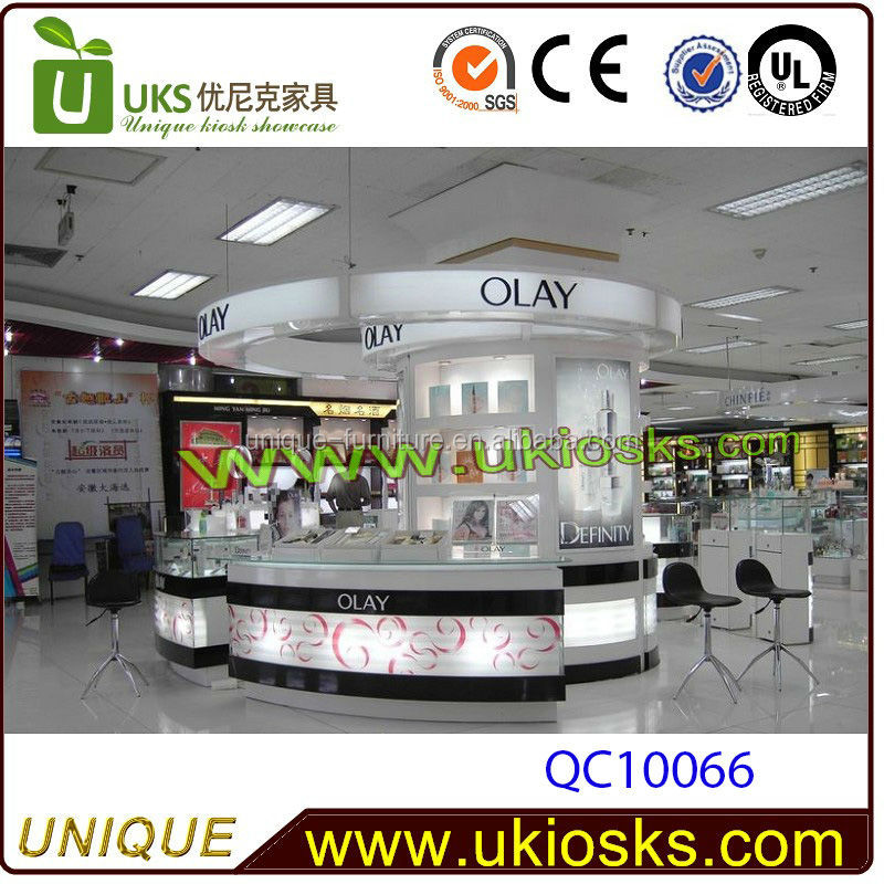 OLAY store design, cosmetic display cabinet,cosmetic display unit