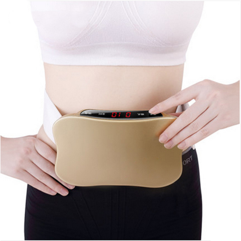 Rechargeable women waist slimming belt belly.Electric back