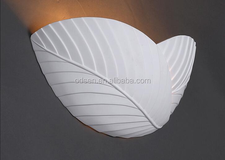 Bianco gesso applique da parete a forma di conchiglia buy