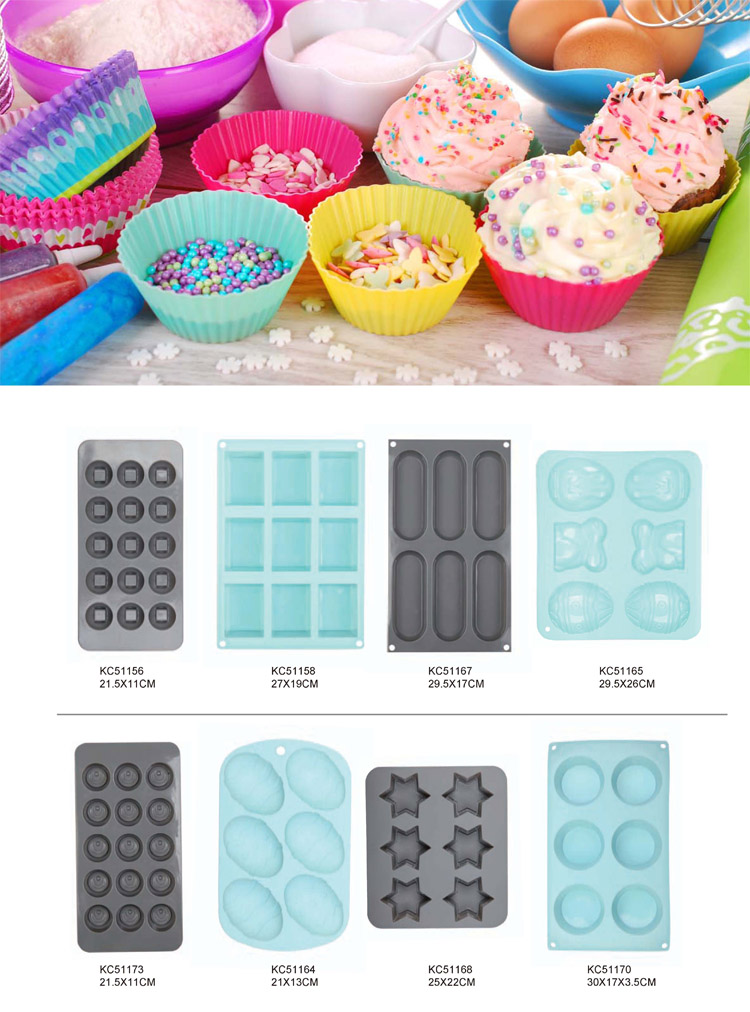 Christmas Shaped Silicone Mould Cake Decorating Baking Tool