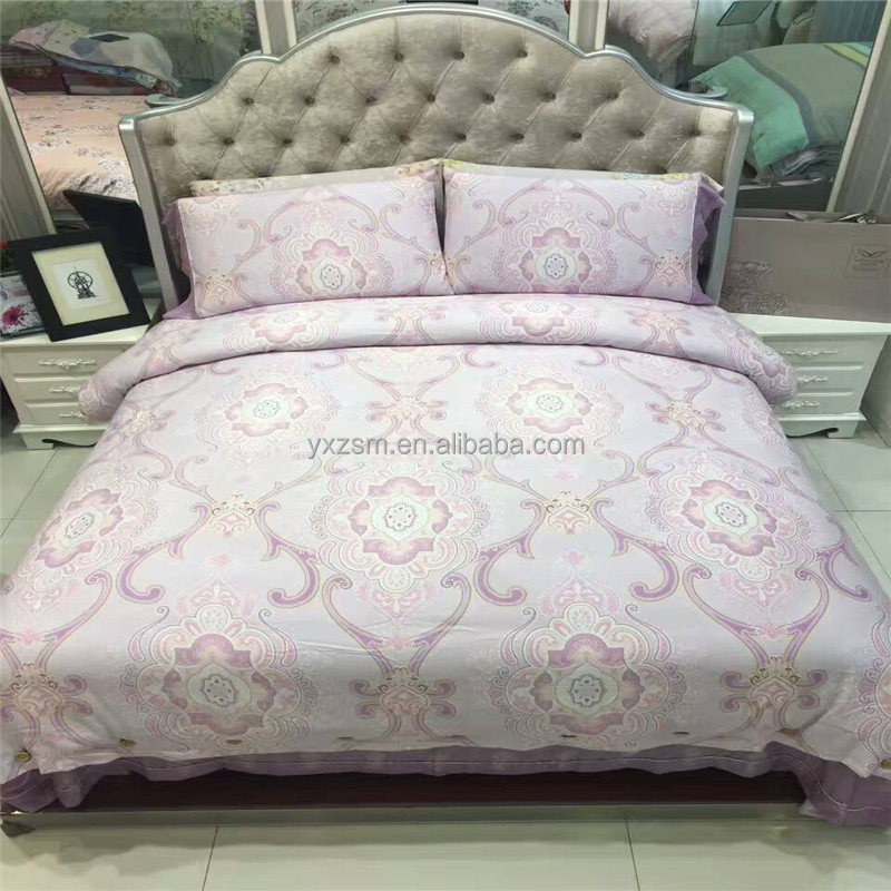 Luxury Queen Size Modern Comforter Patterned Fitted Sheets Neutral Bedding Sets