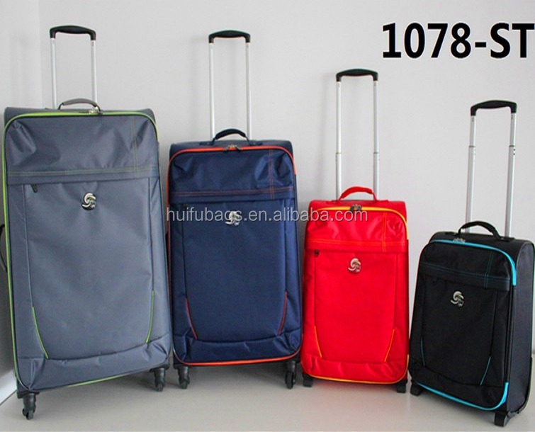 "New arrival 4pc Eco Lite 18""21"" Two wheels 26""30"" Four Wheels Trolley case luggage"