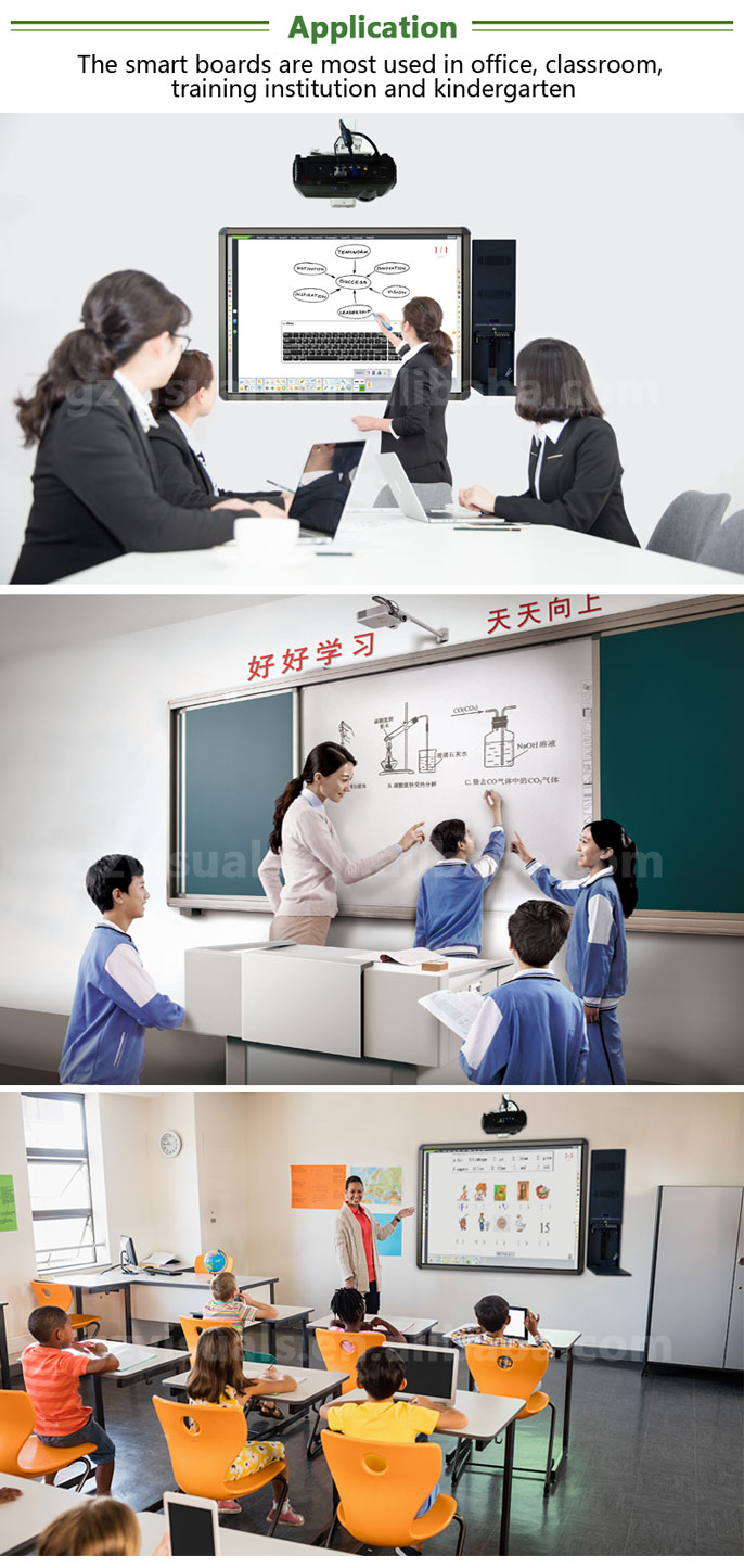 Hot koop china smart whiteboard interactieve whiteboard voor klaslokaal