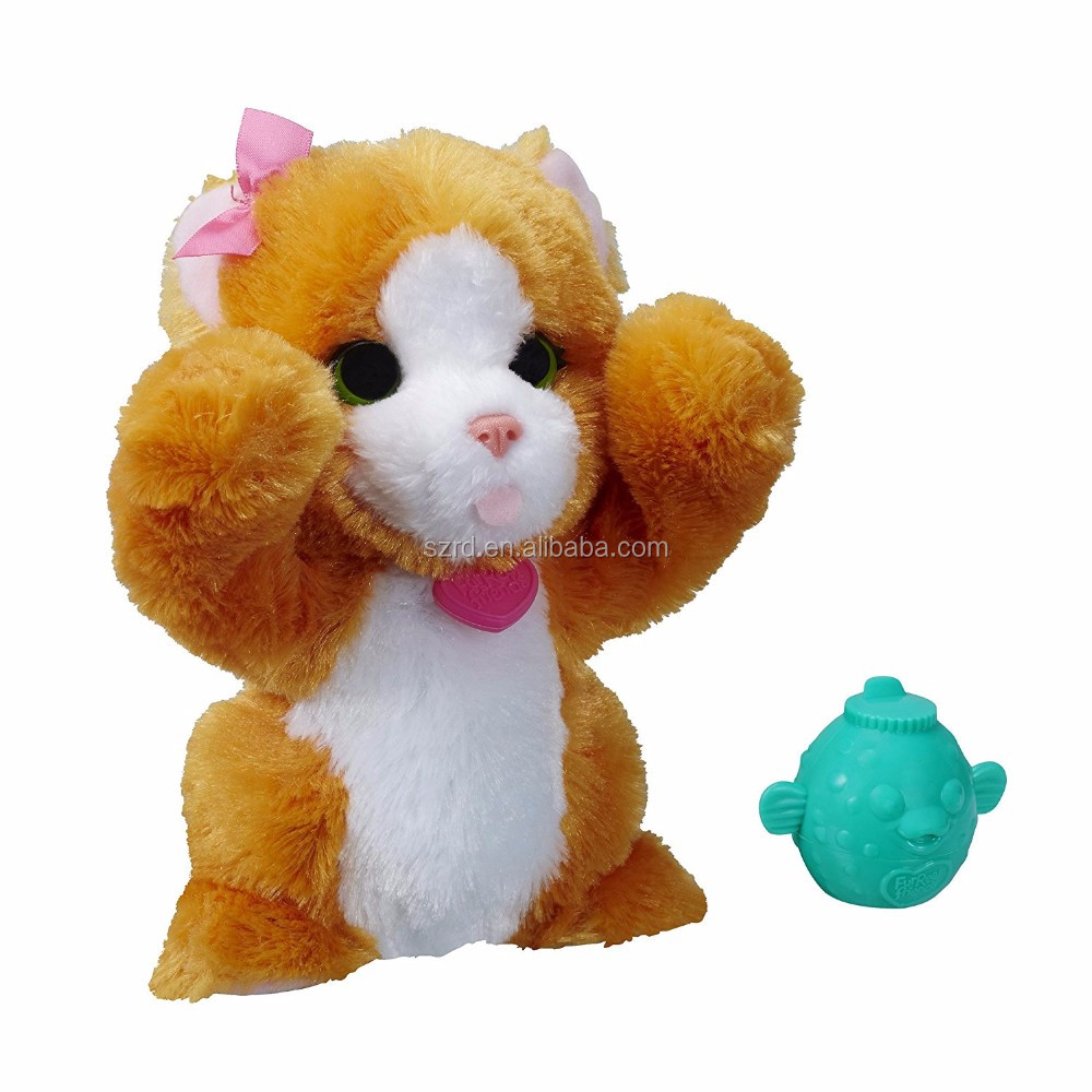 Big Paws Peek-a-boo Daisy Pet/lovely animal plush toy/ Manufactured in China