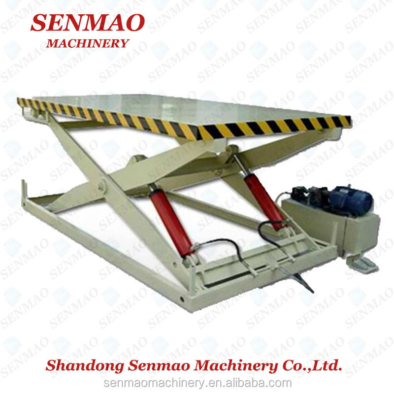 China lifting table/lift table/hydraulic double scissor lift table