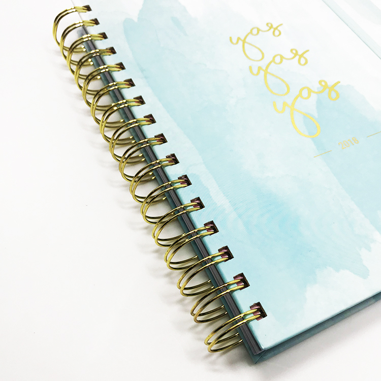 Colorful Cover Spiral Custom Personalized Notebook Printing
