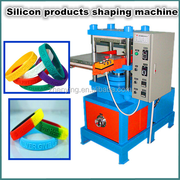 Silicone Wristband Machine Machinery