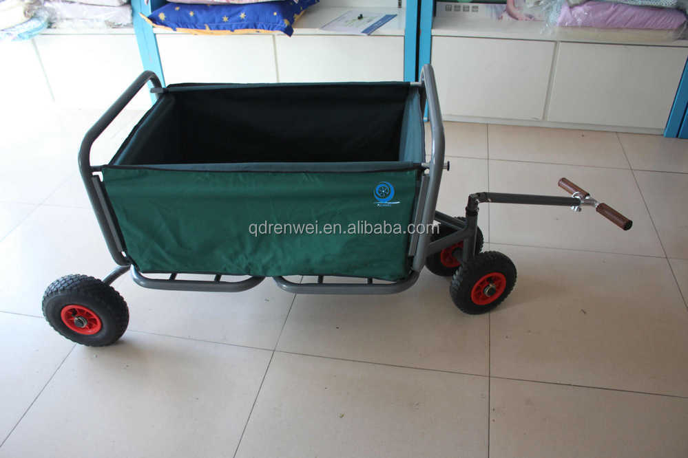Folding Utility Beach Cart Garden Cart Shopping Cart Beach Wagon