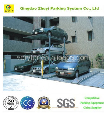 Simple Vertical Lifting Type Car Parking Equipment