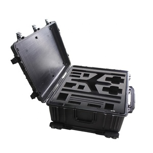 800*600*360MM Heavy duty abs case with wheels and telescoping