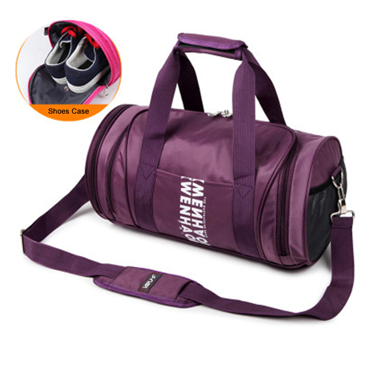 Chinese ducts wholesale best travel bags Sport Duffle 210D lining sports bag