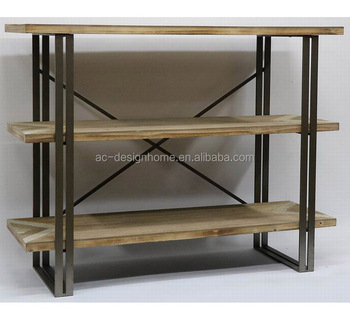 3 Tier Antique Vintage Decorative Wooden Metal Wrought Iron Shelf Wall Wire Flower Product On Alibaba