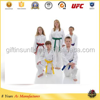 white cheap taekwondo uniforms ,taekwondo uniform fabric,itf taekwondo dobok