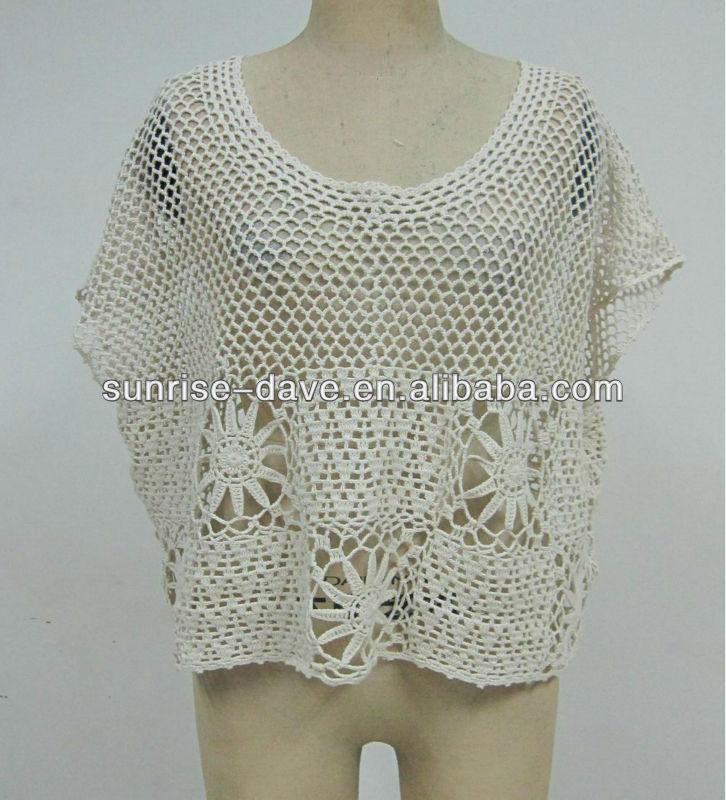 Mode Pullover Häkeln/mode Häkeln Sommer Top - Buy Mode Pullover ...