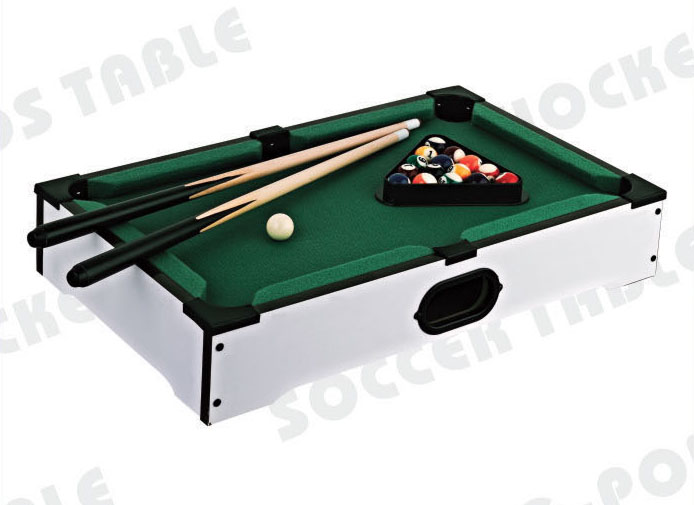 Mini Table Top Billiard Game Table/Pool Table With Customized Sticker