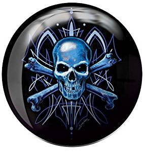 Brunswick Skull Viz A Ball Bowling Ball