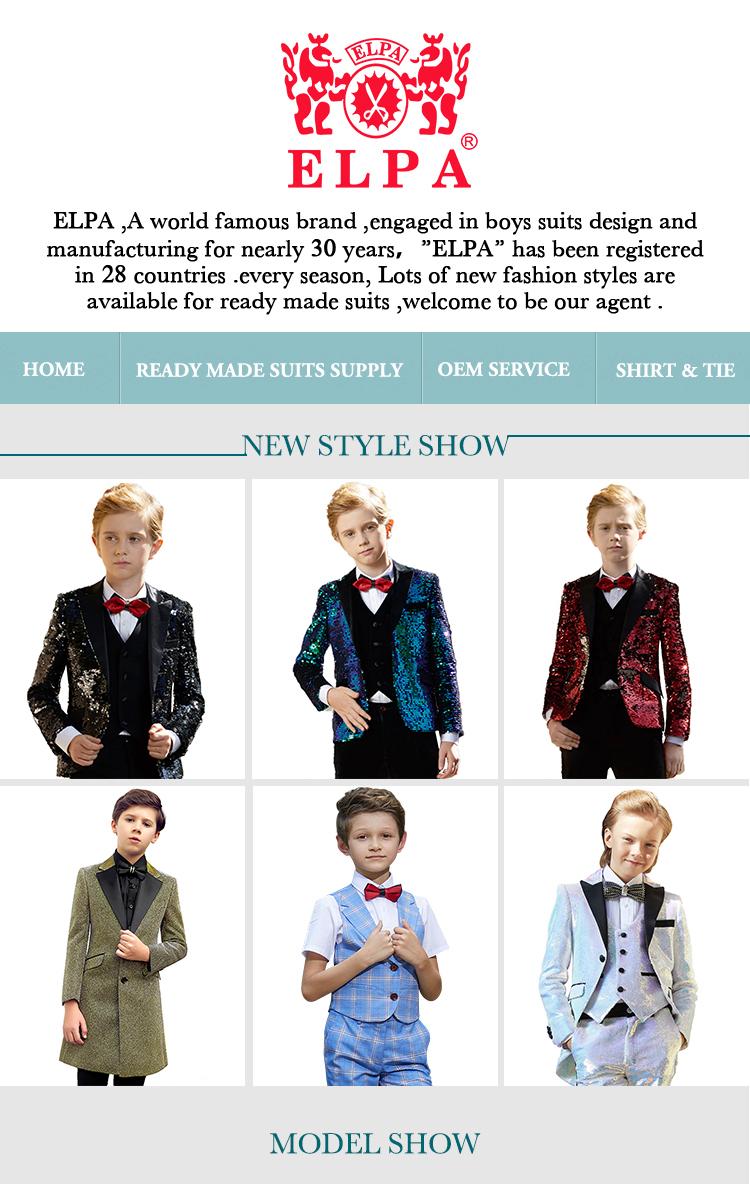 ELPA-robe de fête pour bébés garçons | Costumes de smoking cérémonie de baptême, tenue de soirée de cérémonie, pour mariages, boutique