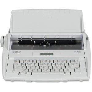 """Brother ML-300 Electronic Dictionary Typewriter - Daisy Wheel - 12 cps - 9"""" Print Width16 Character(s) LCD - ML-300"""