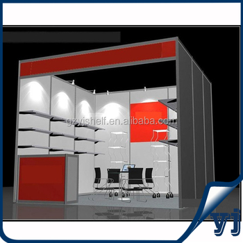Trade Show Booth With Shelves : Exhibition booth furniture custom trade show booth with