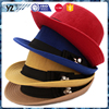 New and hot custom design fashion bowler hat Fedora hat for mowen drop shipping halloween costumes