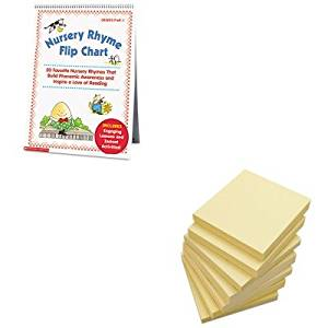 KITSHS0439513820UNV35668 - Value Kit - Scholastic Nursery Rhyme Flip Chart (SHS0439513820) and Universal Standard Self-Stick Notes (UNV35668)