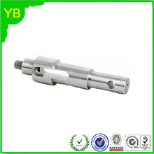 Stainless steel precision cnc lathe machine flexible shaft /axle/roller spare parts machining