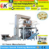 pasta pieces pillow bag automatic vertical packing machine