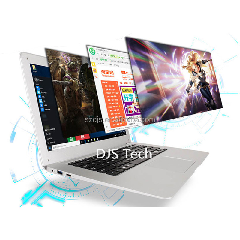 14 inch Ultra slim Computer with Intel Atom x5-Z8350 (Quad-Core)2M Cache, up to 1.92 GHz