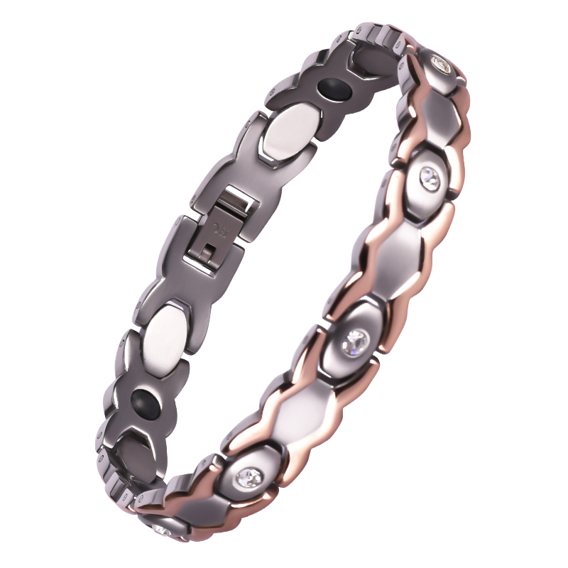 Wholesale Rose Gold Custom Jewelry Stainless Steel Bracelet For Woman