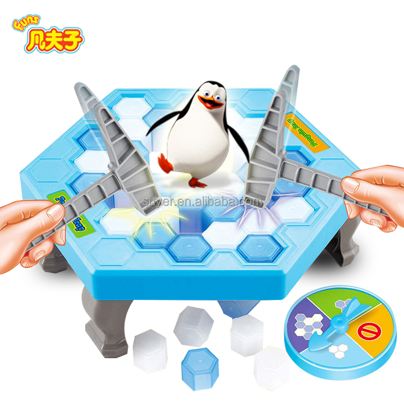 New novelty toys activate family games penguin trap game