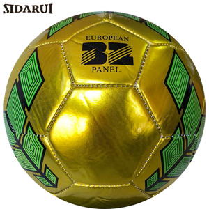 Factory special price team sports promotion Metal PVC foam football soccer