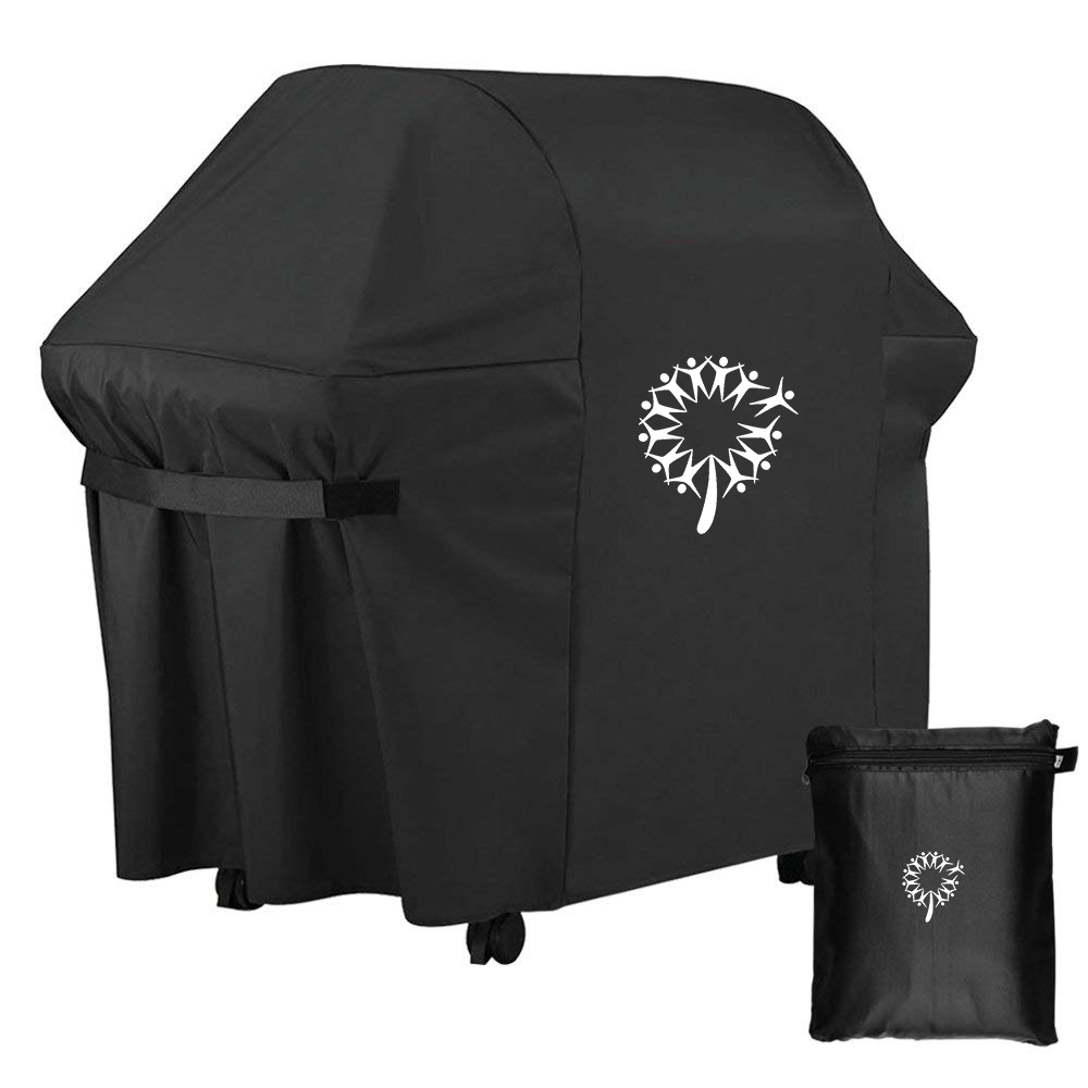 Custom brinkman gas barbecue roker weberable bbq grill cover