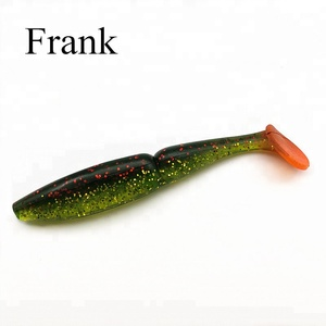Frank newly made Japanese popular T tail soft shad 115mm artificial soft fishing bait