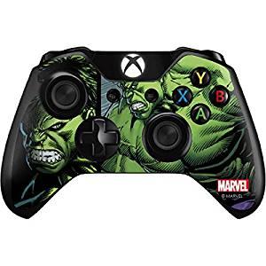 Marvel Hulk Xbox One Controller Skin - Hulk Vinyl Decal Skin For Your Xbox One Controller