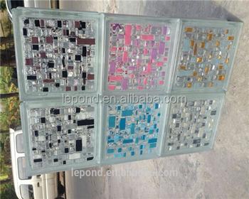 Kleurrijke glas baksteen voor huis decoratie buy glazen