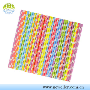 Top grade multicolour bended straws with dispenser