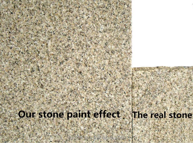 Favorable al medio ambiente l quido efecto granito piedra for Pintura efecto piedra