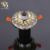 Advanced china supply crystal glass Coppery double color ce RoHS certificated 5W E27 led outbow downlight