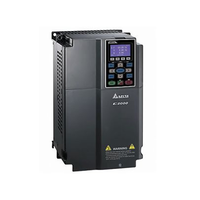 Delta Inverter C2000 Series VFD450C43S three phase 380V 45kw 60hp adjustable speed drive for motor/water pump/industry